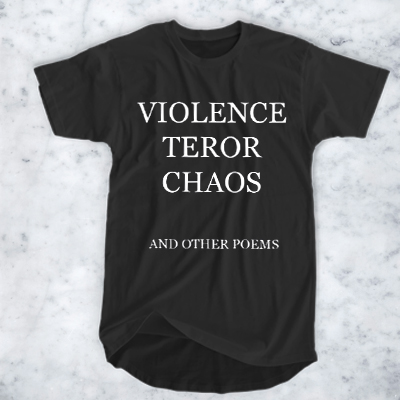 Violence Terror Chaos And Other Poems
