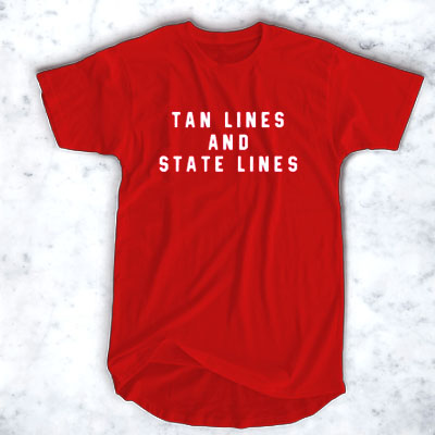 Tan Lines And State Lines